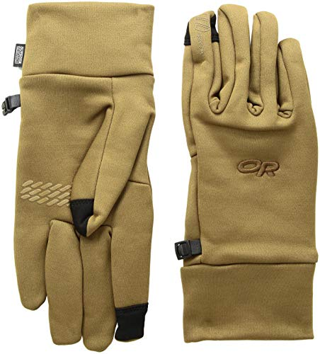 Outdoor Research Men's PL100 Sensor Gloves, Coyote, ()