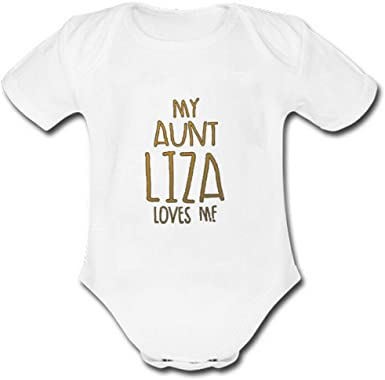 My Naming Day Embroidered Baby Vest Gift Personalised