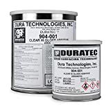 Duratec Fibre Glast Clear Hi-Gloss Gel Coat Additive - 1 Gallon - Improve Gloss and Get an Open-Air Cure
