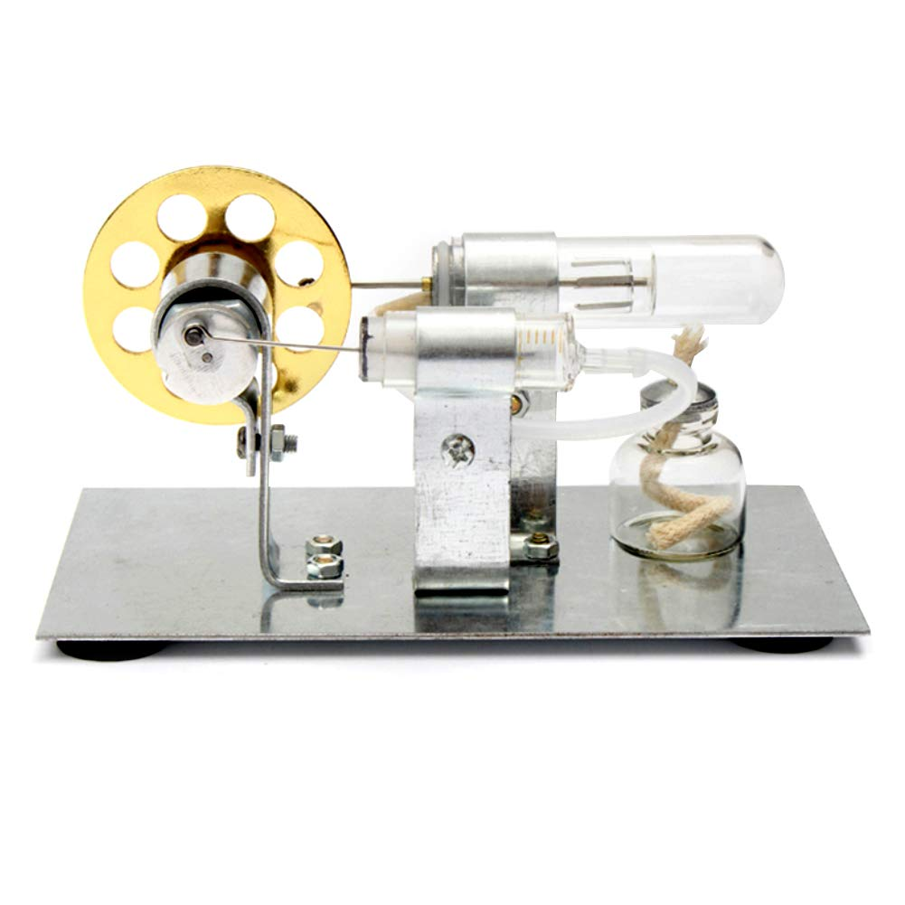 At27clekca Hot Air Stirling Engine Model Motor Steam Power Physics Toy Electric Generator by At27clekca (Image #2)