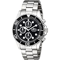 [Sponsored]Invicta Men's 1768 Pro Diver Collection Stainless Steel Watch with Black Dial