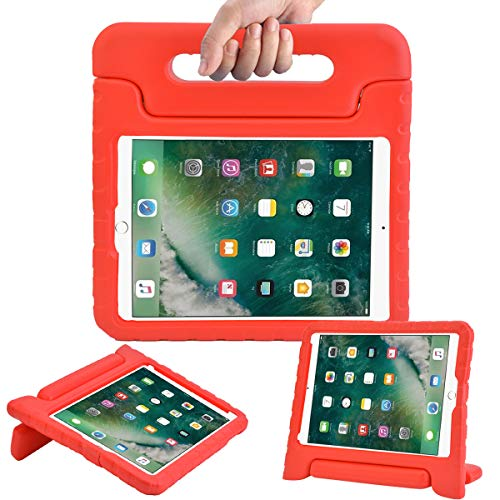 AVAWO Kids Case for New iPad 9.7 2017 & 2018 Release - Light Weight Shock Proof Convertible Handle Stand Friendly Kids Case for iPad 9.7-inch 2017 & 2018 Latest Gen -