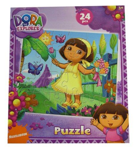 Dora The Explorer Puzzle - 24cps Dora & Boots Puzzles (Garden Fun)