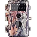 Zopu Trail Camera 16MP 1080P No Glow Night Vision 65ft, Game Camera with 90° Wide View Angle, 2.4 LCD, Hunting Camera Motion Activated 0.6s Trigger Speed, Wildlife Camera IP66 Waterproof Protected