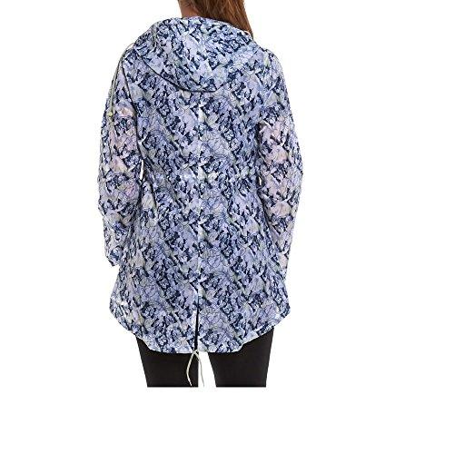 Army And Workwear - Abrigo impermeable - Manga Larga - para mujer Mariposa