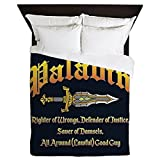 CafePress - Paladin All Around Good Guy - Queen Duvet Cover, Printed Comforter Cover, Unique Bedding, Microfiber