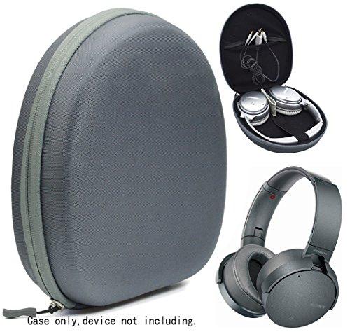 (Stone Gray Headset Microphone Case for MPOW Pro, 071, V4.1; Plantronics PLNAUDIO478, 655, 628, C310-M; Logitech H340, H390, H540H570e, H600, H650e, H820e; Sennheiser, Voiinoiu, Cyber Acoustics, Jabra)