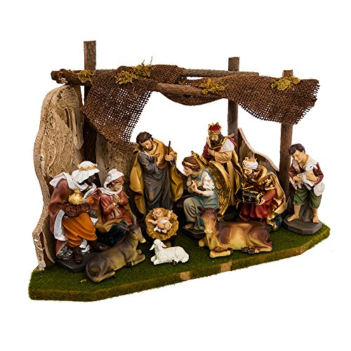 Kurt Adler Nativity Set with 11 Figures and Stable for $<!--$111.76-->