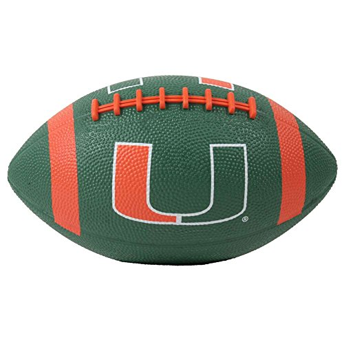 Baden Miami Hurricanes Mini Rubber Football
