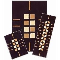 Capri 3-piece Rug Set (Modern Squares)