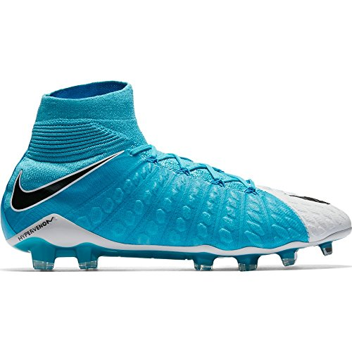 3 Fg Football Boots (Nike Hypervenom Phantom III DF FG Mens Football Boots 860643 Soccer Cleats (uk 11 us 12 eu 46, white photo blue 104))