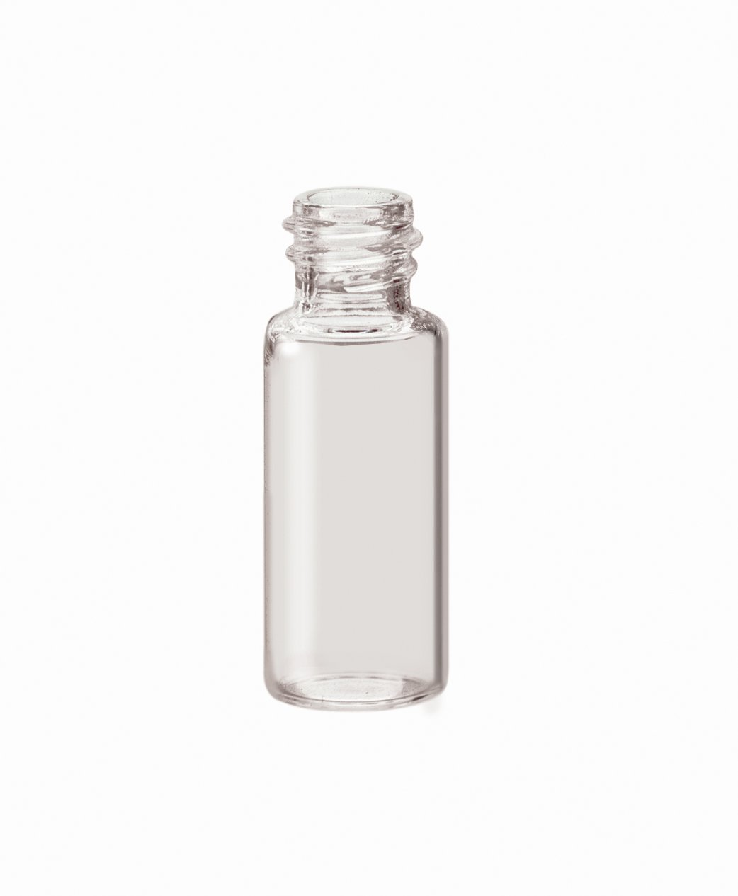 National Scientific Glass Sample Clear Vials with PTFE/Foam Urethane Liner Septum, 16ml Volume (Pack of 200)