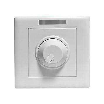 ounona LED Dimmer PWM controlador de voltaje constante LED interruptor regulador de intensidad para LED Gabinete Luz Luz de tira rígida barra de luz Panel ...