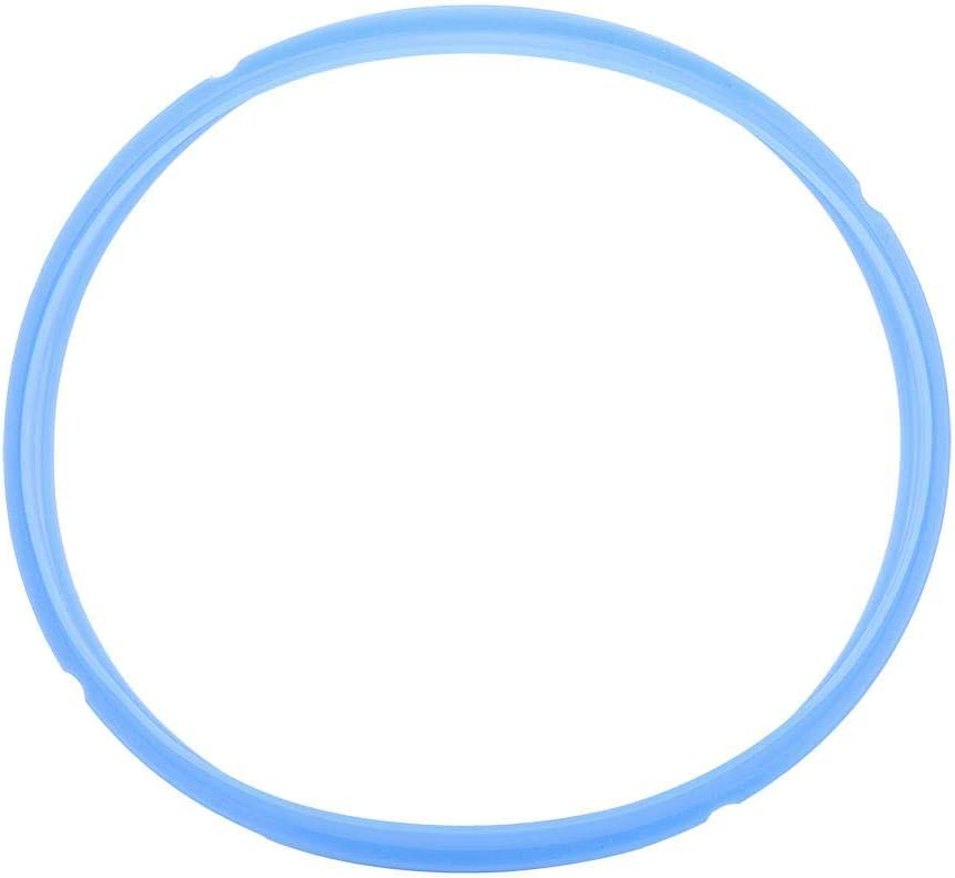 1 PCS Silicone Sealing Ring Accessory Compatible with 5/6 Qt, 8Qt Pressure Tool Silicone Gasket Accessories Rubber Sealer Replacement (8Qt Blue)