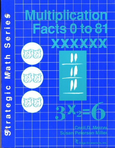 Multiplication Facts 0 to 81 (Strategic Math Series)