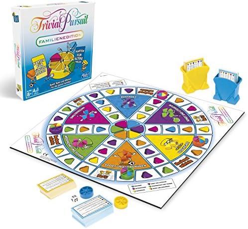 Hasbro Trivial Pursuit Family Edition Juegos de Preguntas Niños y Adultos - Juego de Tablero (Juegos de Preguntas, Niños y Adultos, Niño/niña, 8 año(s), 400 Pieza(s), Family Edition): Amazon.es: Juguetes y juegos