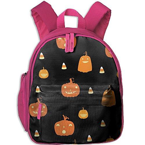 Kids Unisex Happy Pumpkin Halloween School Backpack Bag Book Bags (Taps Live Halloween 2017)