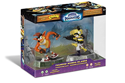 Skylanders Imaginators Thumpin' Whumpa Islands Adventure - Force Trap Chaos