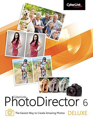 CyberLink PhotoDirector 6 Deluxe [Download] (Best Photography Computer Programs)