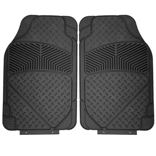 oxgord 4pc tail fin floor mats for toyota fj cruiser. Black Bedroom Furniture Sets. Home Design Ideas