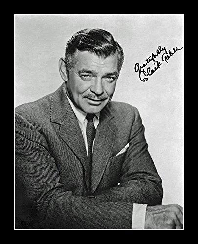 8 x 10 All Wood Framed Photo Clark Gable by Celebrity Framed Art (Image #2)