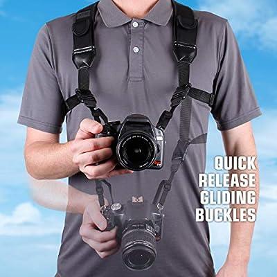 trueshot cámara Digital Correa Arnés de Pecho con cómodo y Clave ...