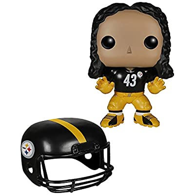 Funko POP NFL: Wave 1 - Troy Polamalu Action Figures: Funko Pop! Sports:: Toys & Games