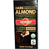 Alter Eco Organic Almond Dark Chocolate, 2.8 Ounce - 12 per case.