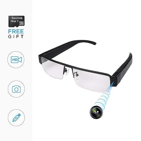 24f360e891 Amazon.com   Spy Glasses with Hidden Camera Glasses