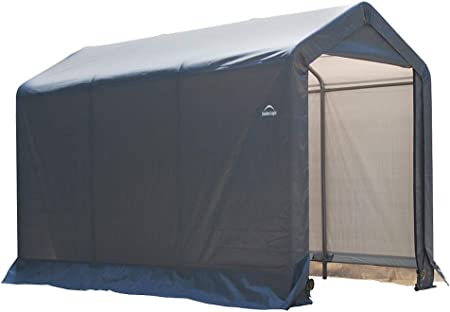 Amazon Com Shelterlogic Replacement Cover Kit 6x10x6 5 Peak Gray 90501 7 5oz Gray Garden Outdoor