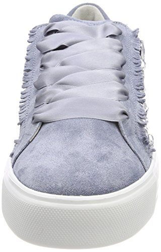Schuhmanufaktur Bianco Blu Sohle Crystal Cielo Donna Sneaker und Up Kennel Schmenger qxPvE