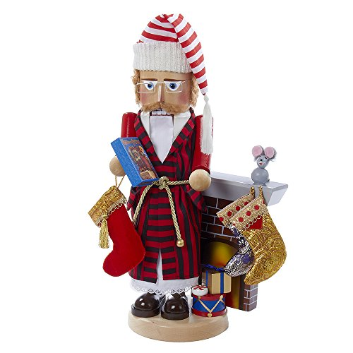 Kurt Adler Steinbach Night Before Christmas Storyteller Nutcracker, 18-Inch by Kurt Adler