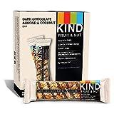 KIND Bars, Dark Chocolate Almond Coconut, Gluten Free, 1.4 Ounce Bars, 12 Count
