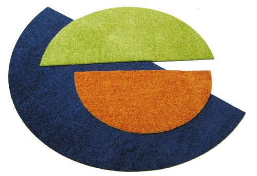 Deko-Matten-Shop Fußmatte Classic, Schmutzfangmatte, halbrund, 55x110 cm, Dunkelblau, Dunkelblau, Dunkelblau, in 10 Größen und 11 Farben B06W9JMZRB Fumatten d89fe3
