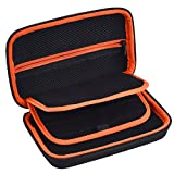 Mudder Protective Travel Carrying Case for Nintendo 3DS/ New 3DS XL (Orange)