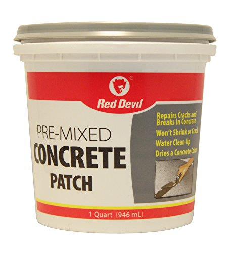 Red Devil 0644 Concrete Patch - 1 qt. - Gray