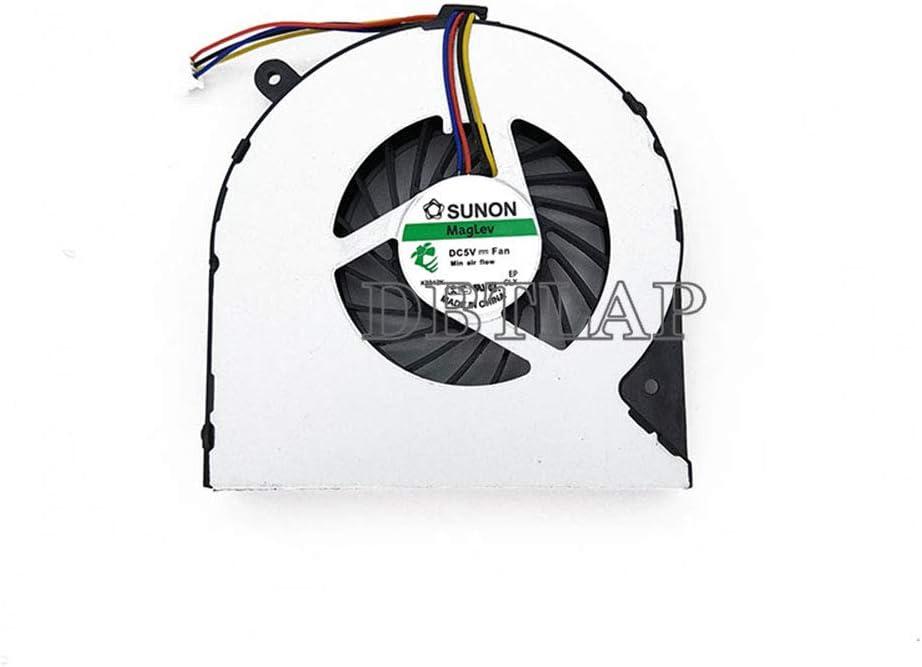 DBTLAP Portátil Ventilador para Toshiba Satellite C855-S5133 CPU Ventilador