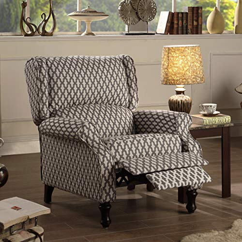 - Rosevera SH-C5 Victoria Recliner, Chestnut Brown