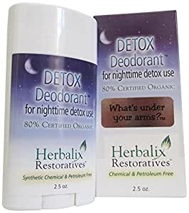 Herbalix Restoratives Nighttime Detox Cleansing Deodorant, 2.5 Ounce