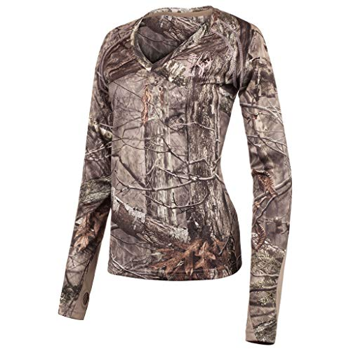 83290e7c Huntworth Ladies Light Weight Long Sleeve Hunting Shirt, Hidden, Medium