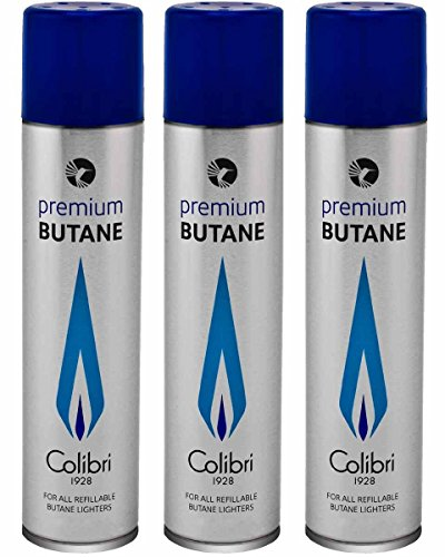 (Colibri Premium Butane Fuel Refill for Lighter 3 Small)