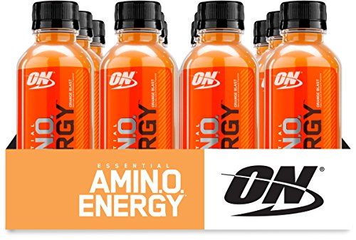 Optimum Nutrition Amino Energy Ready-To-Drink, Orange Blast, 12 Count