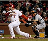 Albert Pujols St. Louis Cardinals MLB Hologram 8x10 Color Glossy Photo #6 in Mint Condition This Officially Licensed High Quality Collectible Photo comes in a BCW Acrylic Protective Top Loader