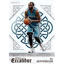 2015-16 Panini Excalibur #120 Al Jefferson Charlotte Hornets Basketball Card