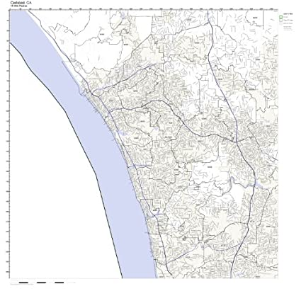 Amazon.com: Carlsbad, CA ZIP Code Map Laminated: Home & Kitchen on solano beach ca map, san luis obispo ca map, san elijo ca map, la jolla ca map, el camino college ca map, solana beach ca map, san marcos ca map, livermore ca map, fort worth ca map, las vegas ca map, santa monica ca map, san clemente ca map, mountain view ca map, campbell ca map, mountain home ca map, del mar ca map, tijuana ca map, chicago ca map, palo alto ca map, camarillo ca map,