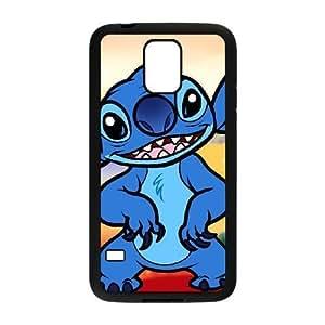 samsung_galaxy_s5 phone case Black Disney Lilo And Stitch Character Stitch TTY2268885