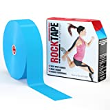 RockTape Uncut BULK Kinesiology Tape For Athletes - 2'' X 105' Roll - Light Blue