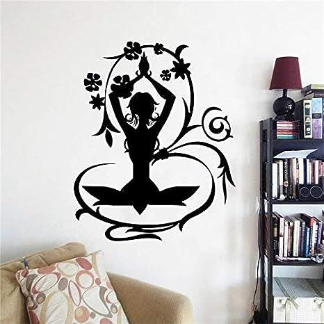 42x52 cm Posturas de Yoga Hogar de Vinilo Creativo ...