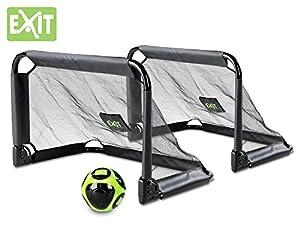 Exit Pico Fußballtor 2er Set zusammenfaltbar - Fussballtor für den Garten...