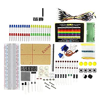 Electronic Parts Pack KIT for ARDUINO component Resistors Switch Button ME